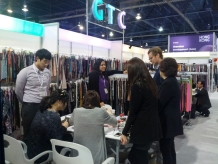 A successful take-off of Gyeonggi's textile companies in Las Vegas이미지