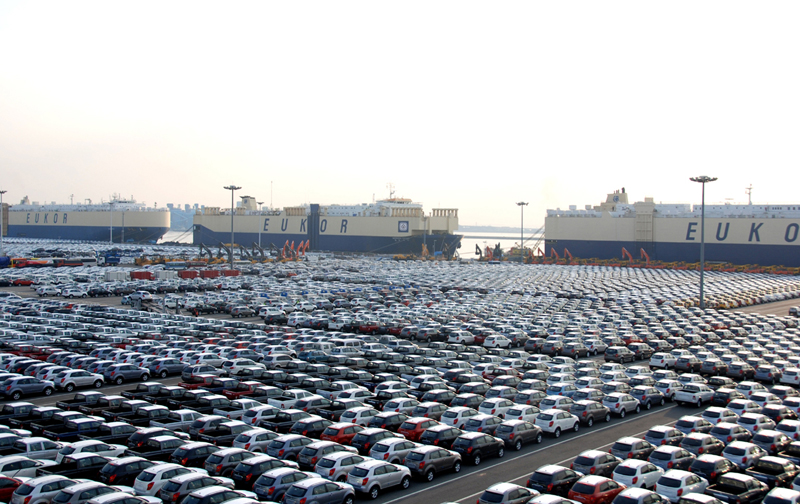 Pyeongtaek Port ranked no.1 for 4 consecutive years in car imports and exports이미지