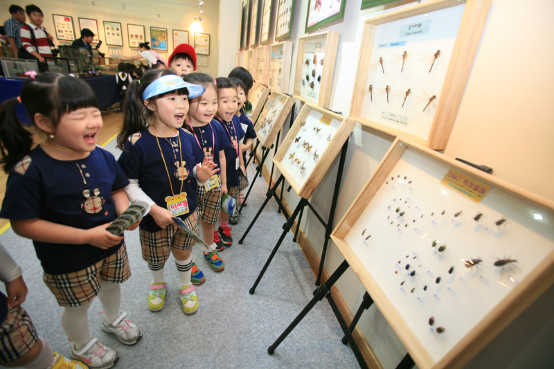 Meet the marvelous world of insects at the Mulhyanggi Arboretum이미지