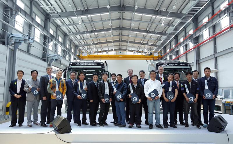 Volvo Trucks Korea establishes Multiplex Delivery Center at Pyeongtaek Port이미지
