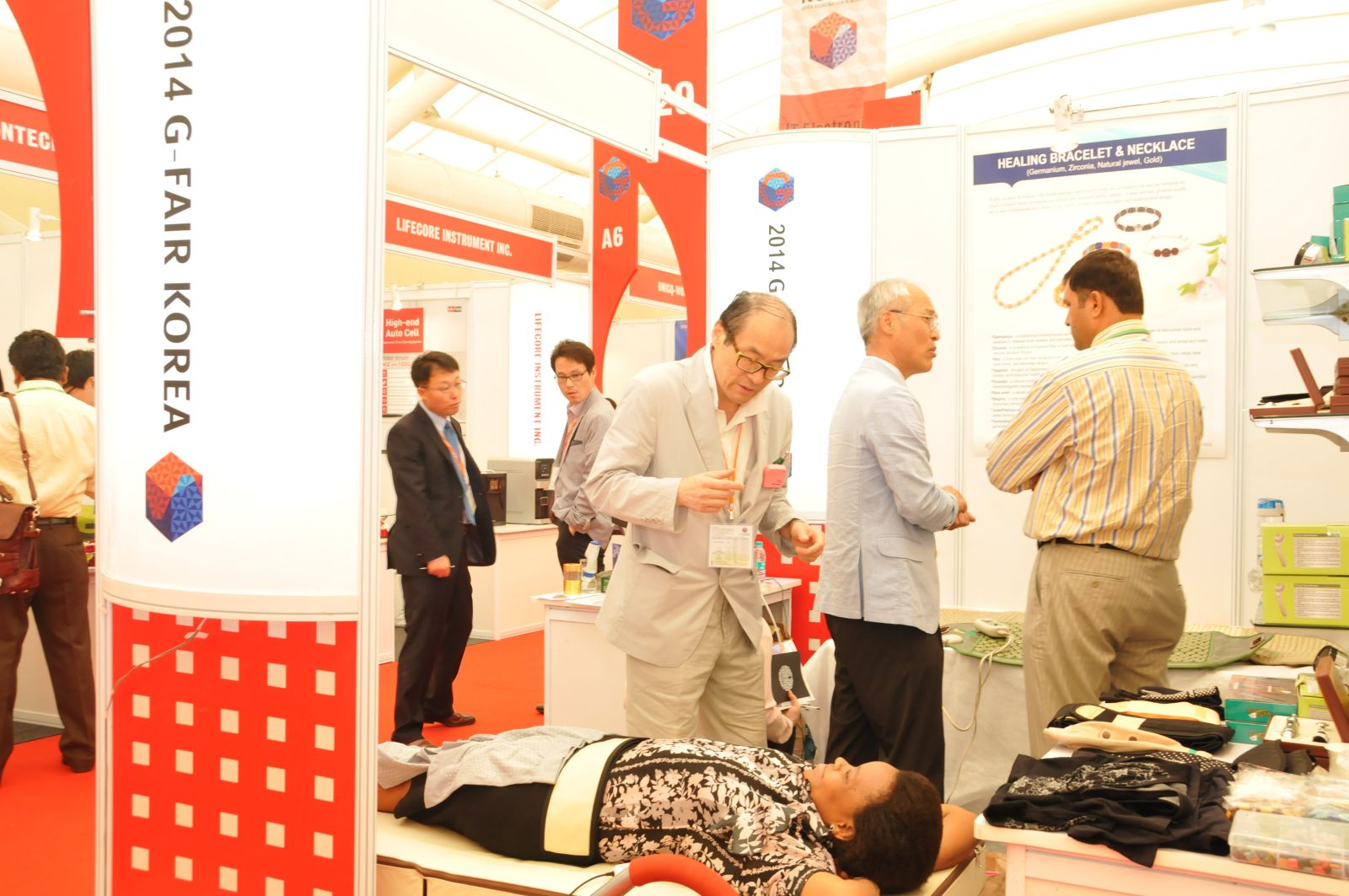 "Successfully held the Sixth ""2014 G-Fair Mumbai"" that captured Indian buyers!이미지"