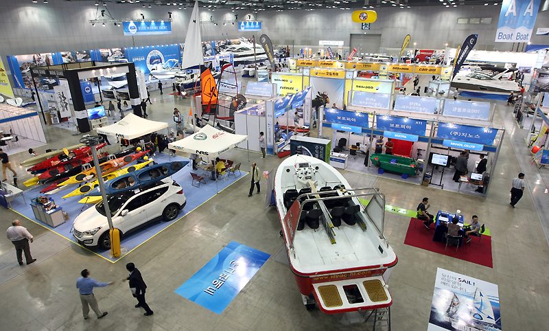 [2014 Korea International Boat Show] Now in its 7th year, Korea International Boat Show among Asia��s