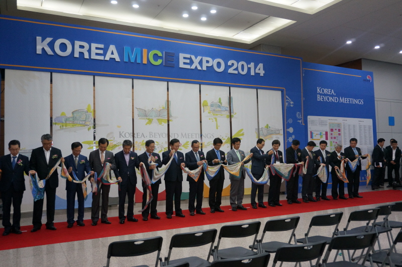 People take tours after attending conventions: KOREA MICE EXPO 2014이미지