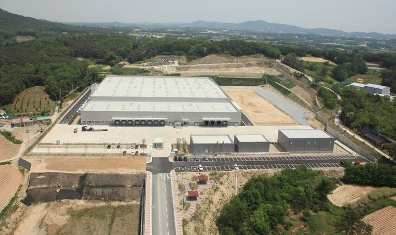 Mercedes-Benz logistics center constructed in Anseong이미지