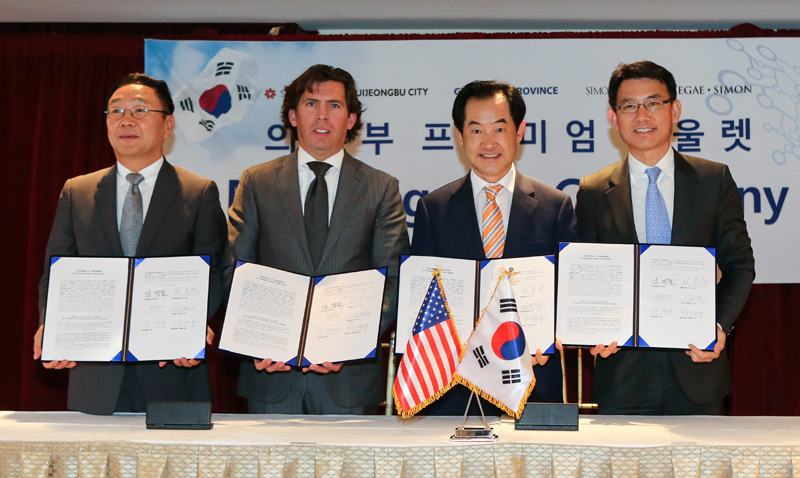[Gyeonggi Delegation to US ①] Investment of USD 100 million induced to build premium outlet in Uijeo이미지