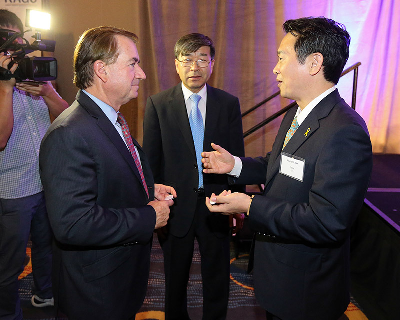 [Gyeonggi Delegation to US ⑤] Governor Nam advances local diplomatic efforts with Korean society in이미지