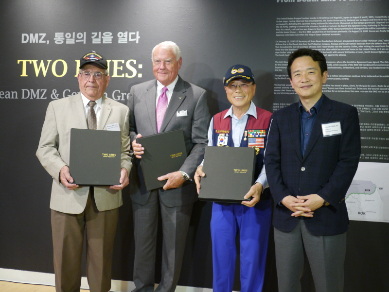"[Gyeonggi Delegation to US ⑥] Governor Nam: ""DMZ to be Place of Peace and Hope""이미지"