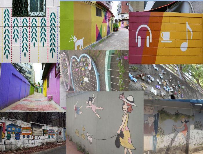 Gyeonggi Province Autumn Tour Destination ― Mural Village Best 4이미지