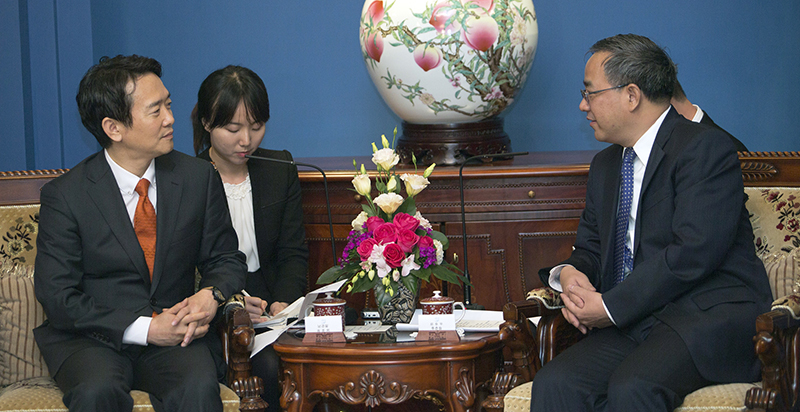 Governor Nam opens new horizon in local diplomacy with Guangdong Province, China이미지