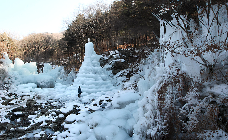 Winter trips to snow-capped Gyeonggi Province이미지