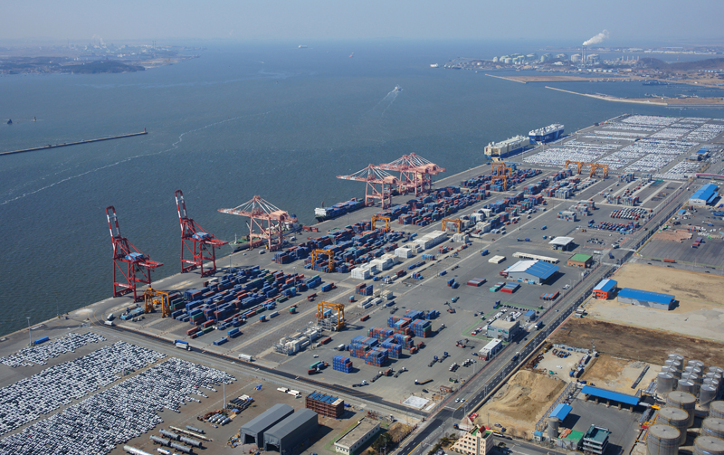 New regular container ship route from the Pyeongtaek Port to Japan이미지